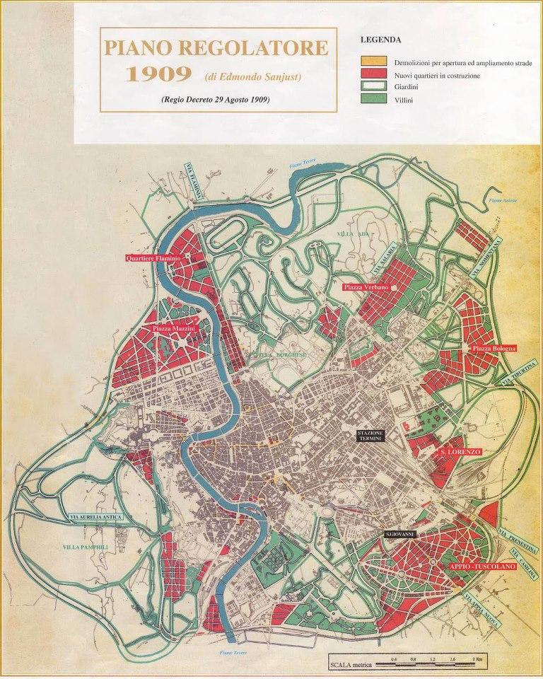 Piano Regolatore di Roma del 1909