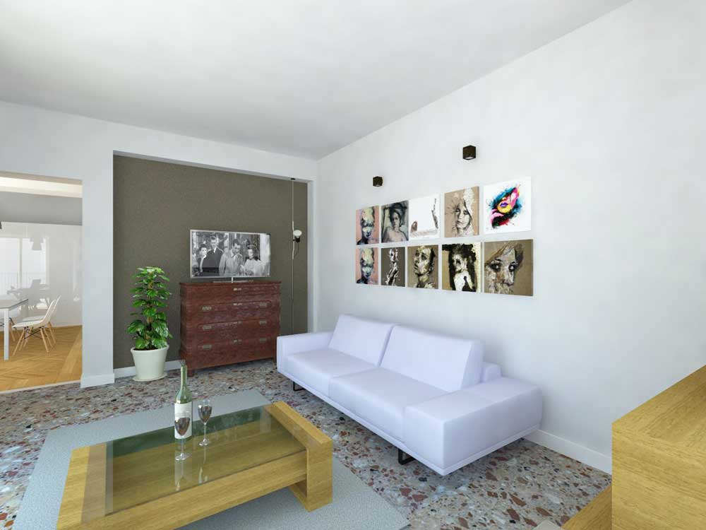 CASA-AI-render-living-soggiorno e TV - architetturaincasa