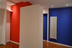 Il colore evidenzia il volume del guardaroba - architetturaincasa