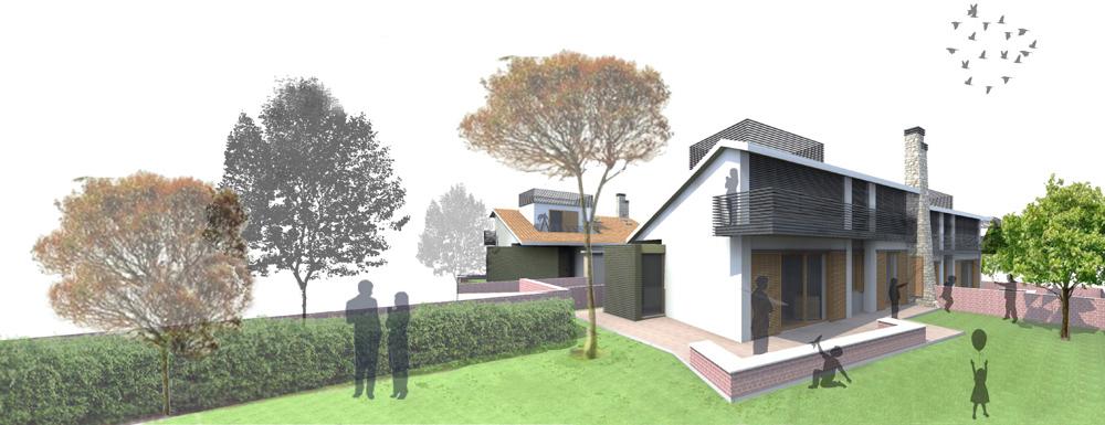 immagine di progetto giardino di pertinenza