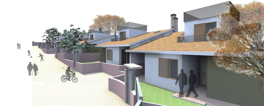 immagine di progetto vialetto interno