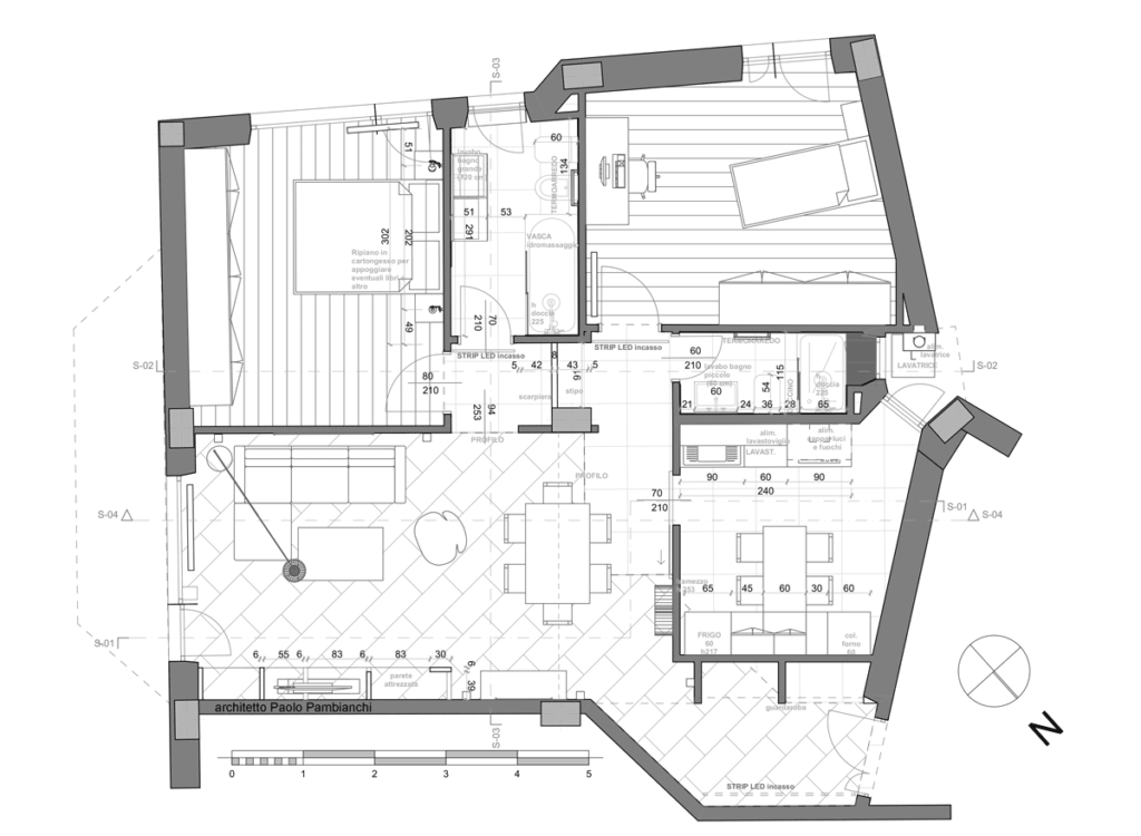 casa EG pianta progetto