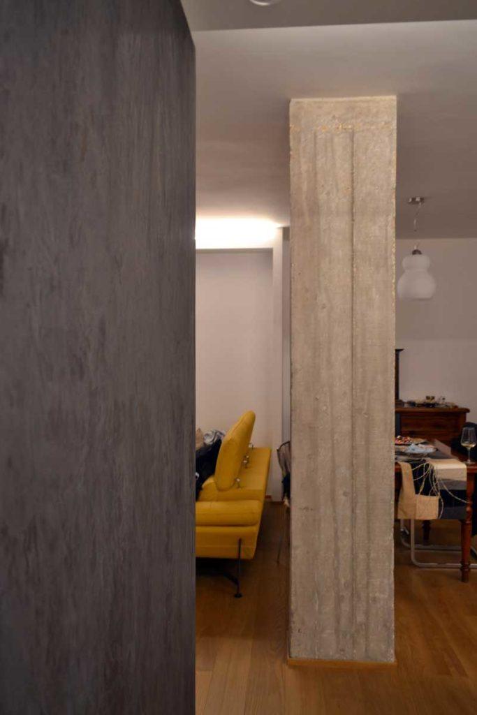 foto: particolare setto-pilastro