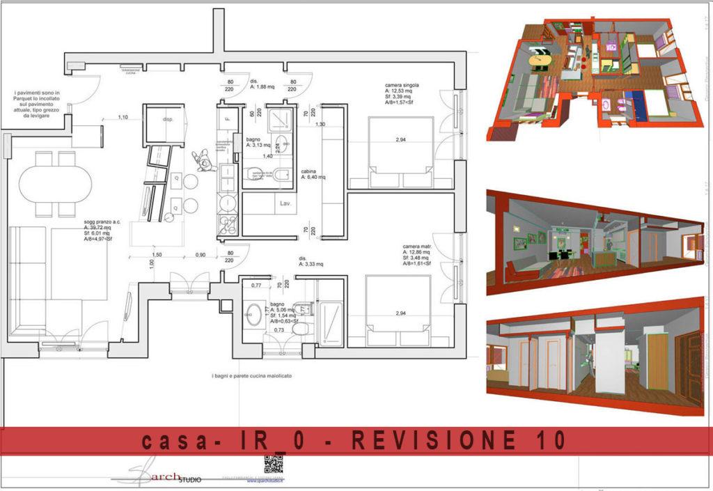 Il progetto preliminare è finito, il lavoro andrà con la progettazione definitiva ed esecutiva, poi ci sarà il cantiere ed alla fine la casa!