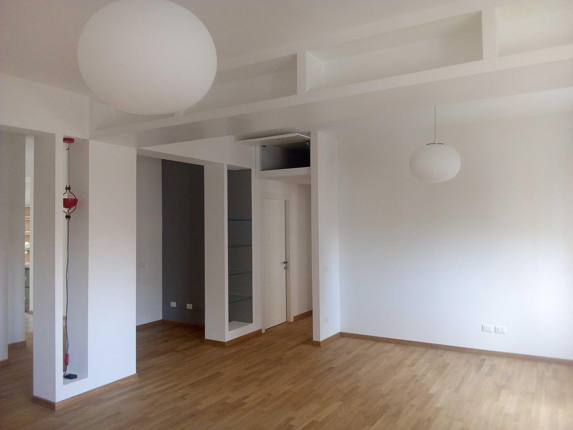 Casa SG – Cucina, pranzo e soggiorno separati ma uniti