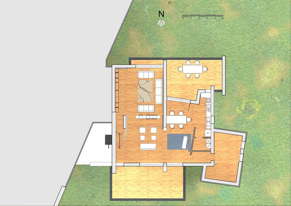 Villa AF – pianta piano Terra