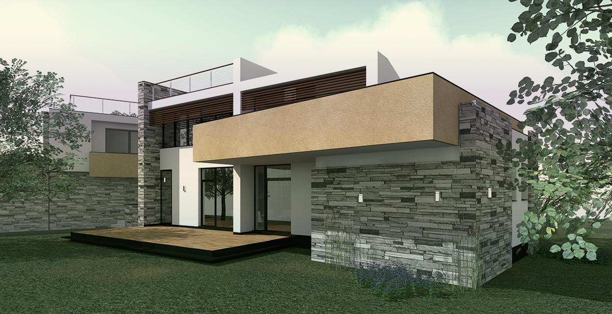 Villa AF – vista dell'esterno