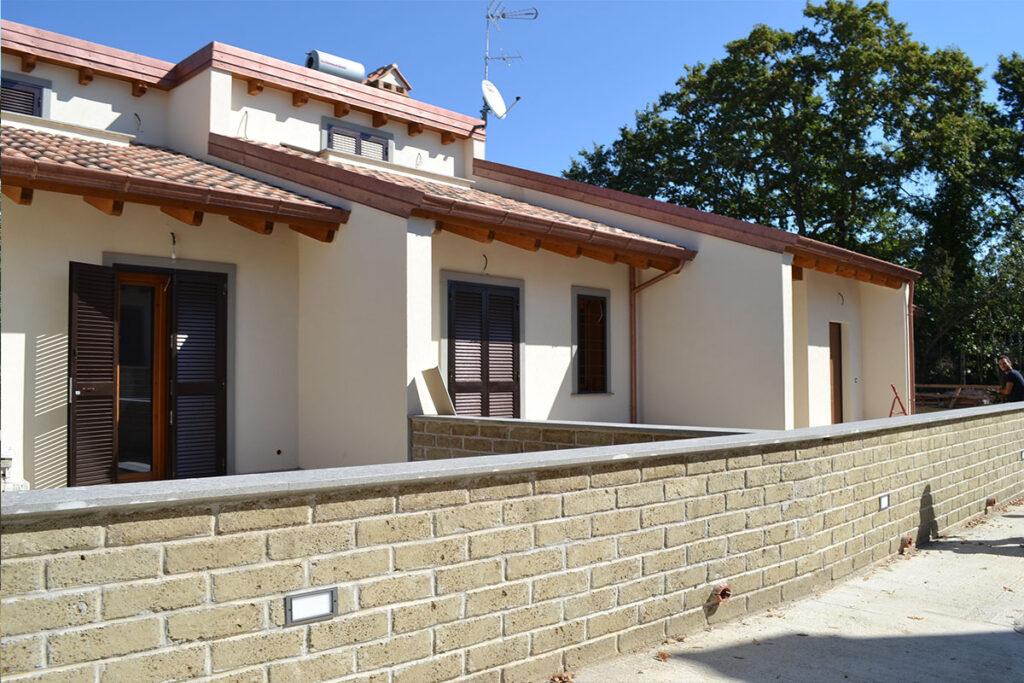 esterno - Casa LCN2 – Bioedilizia Villino Bifamiliare