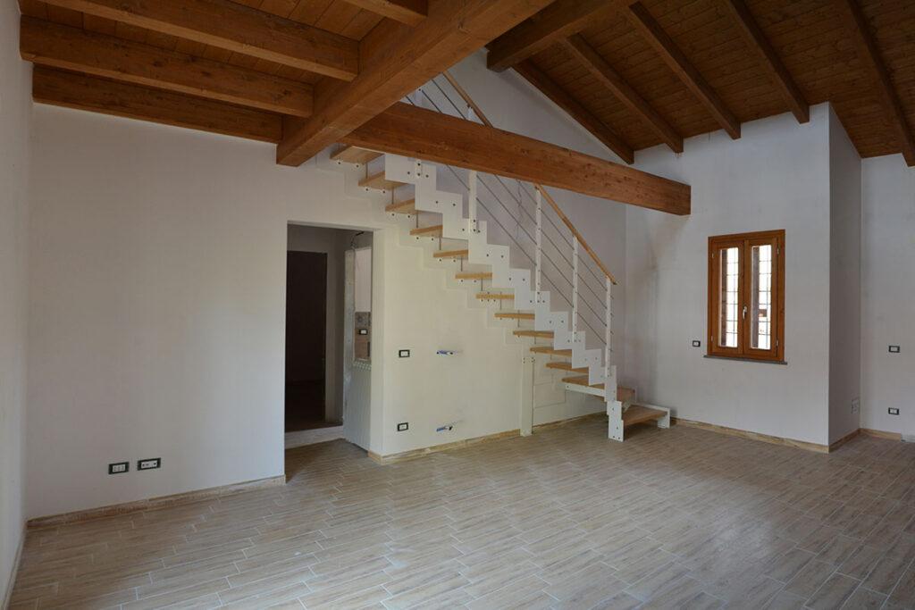 soggiorno - Casa LCN2 – Bioedilizia Villino Bifamiliare